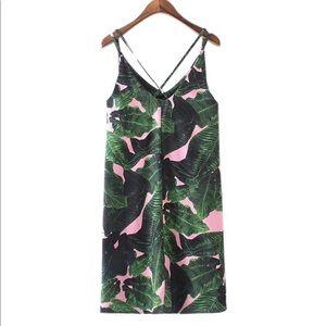 Dresses & Skirts - Palm Print Dress